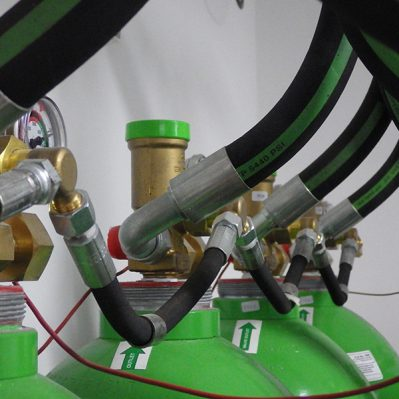 Leak Detection in Gas Distribution Networks